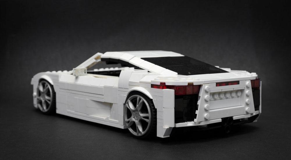 Lexus LFA Lego
