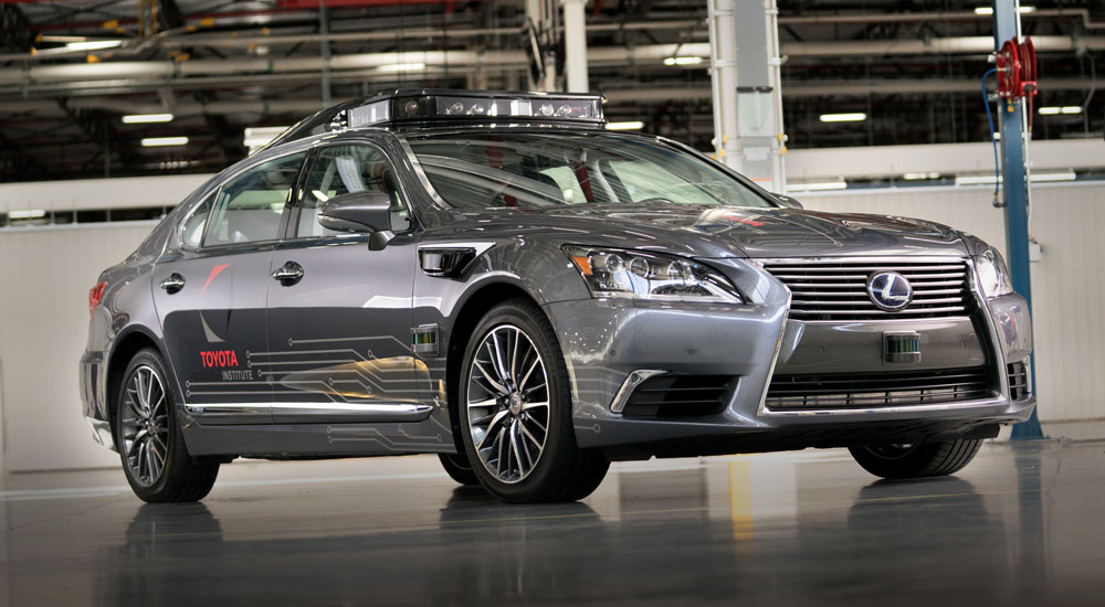 Lexus LS 600hL Automated Driving