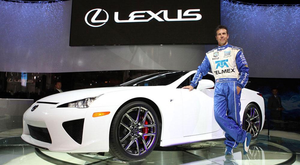 Lexus Scott Pruett