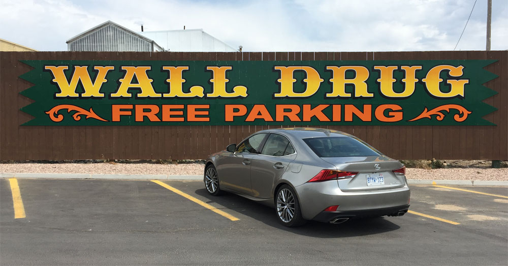 Lexus IS Wall Drug