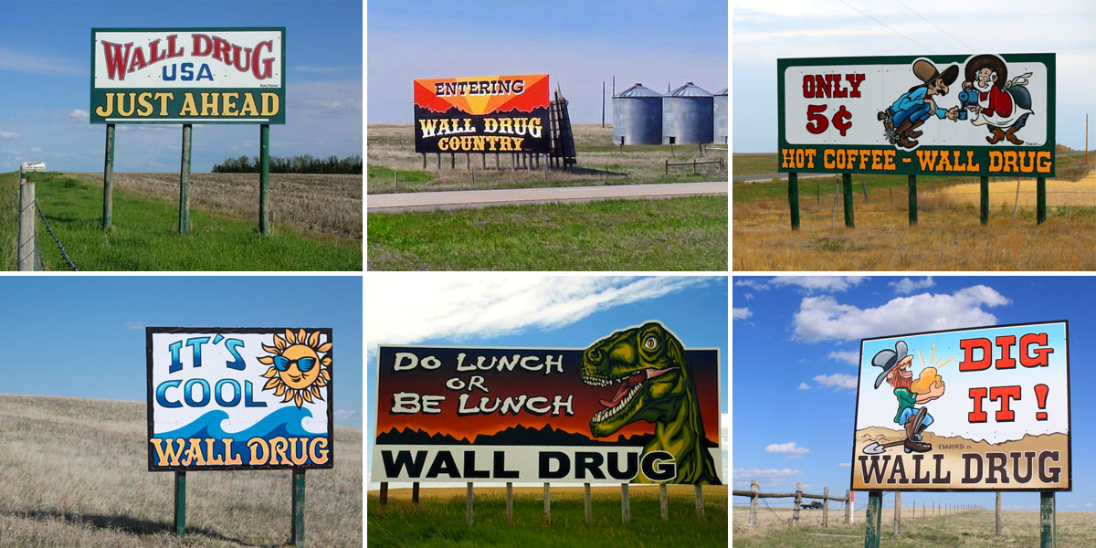 Wall Drug Signs