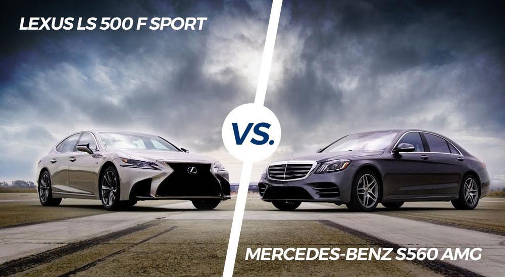 Lexus LS 500 F SPORT vs Mercedes S Class S560 AMG Line