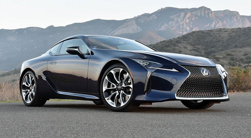 Lexus LC 500 NY Daily News