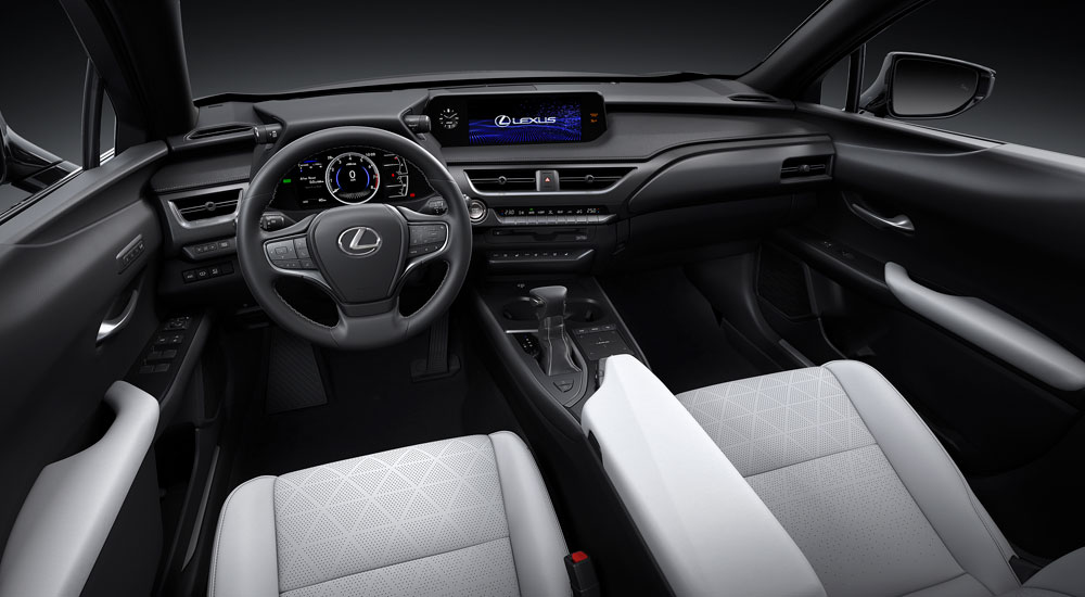 Lexus UX Interior White