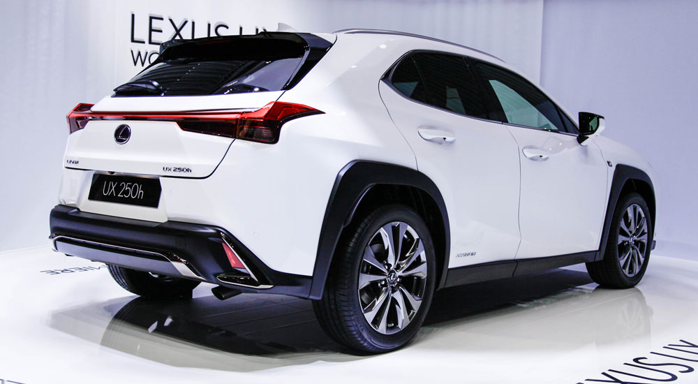 Lexus UX Videos