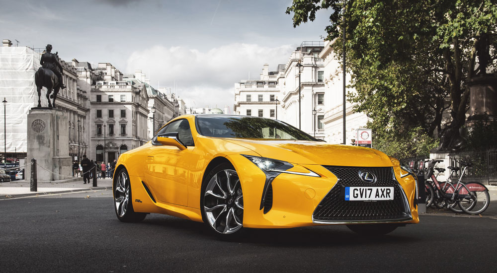 Lexus LC 500 World Car Awards