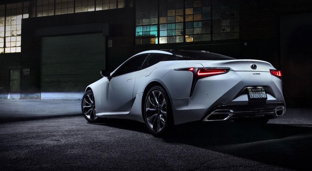Lexus LC 500 ROad & Track