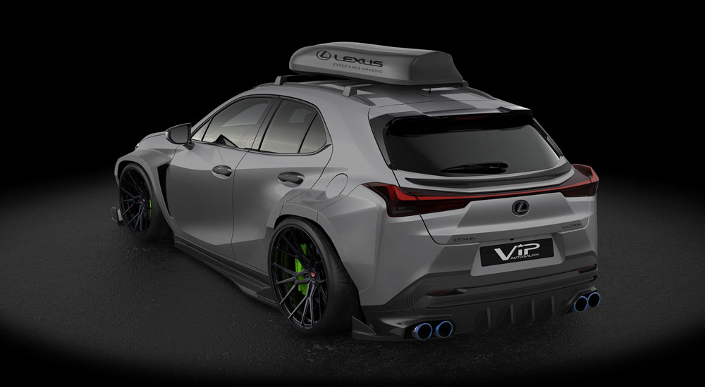 Lexus UX Vossen VIP Auto Salon