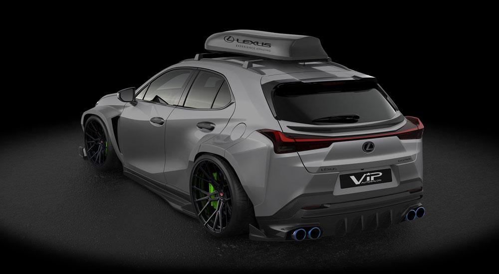 Lexus Rx F Sport >> Tuned: Lexus UX F SPORT Crossover Gets Aftermarket ...