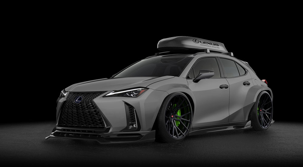 lexus ux 250h f sport vossen. Black Bedroom Furniture Sets. Home Design Ideas