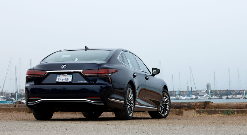Lexus LS 500h Review The Drive