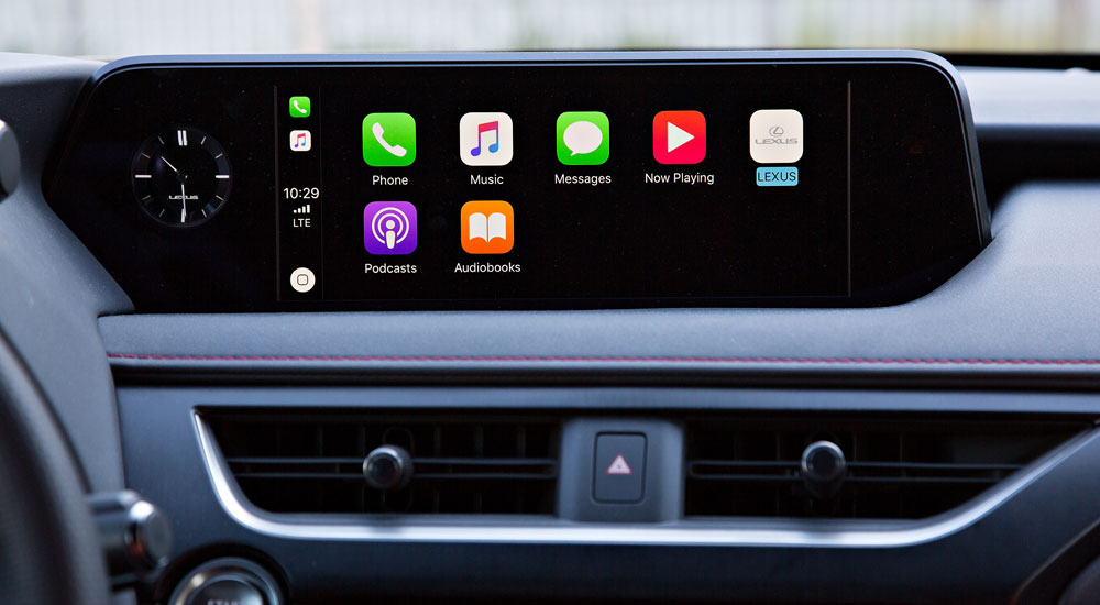 Lexus UX Carplay