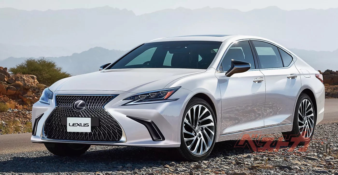 Rendered The Next Generation Lexus Es Sedan Enthusiast Car Sketch Rendering Front