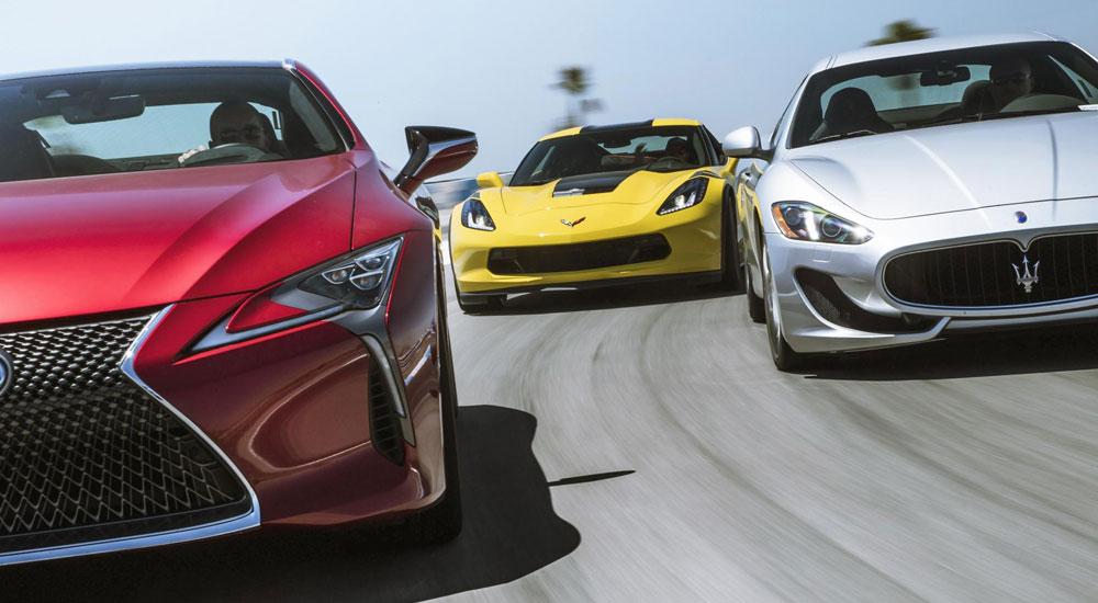 Lexus LC vs