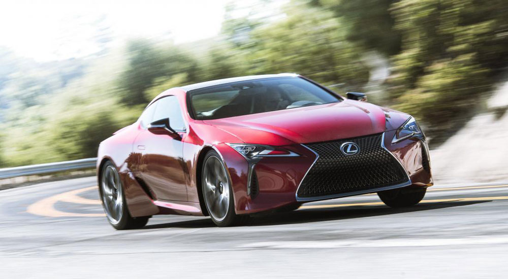 Lexus LC Top Gear