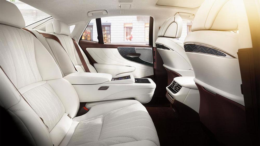 Lexus LS Herringbone Interior