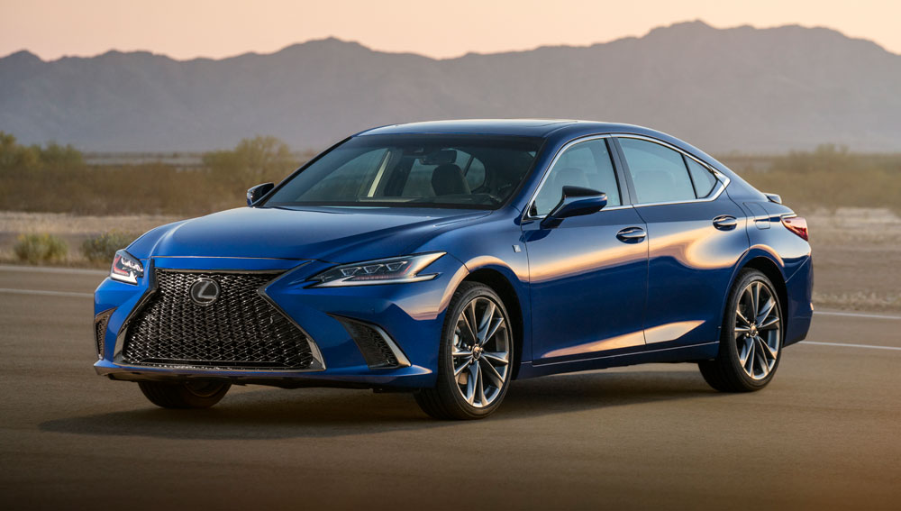 Introducing The All New 2019 Lexus Es 350 300h
