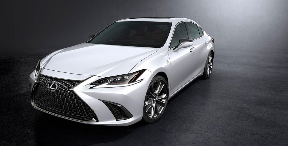 Lexus ES F SPORT Ultra White