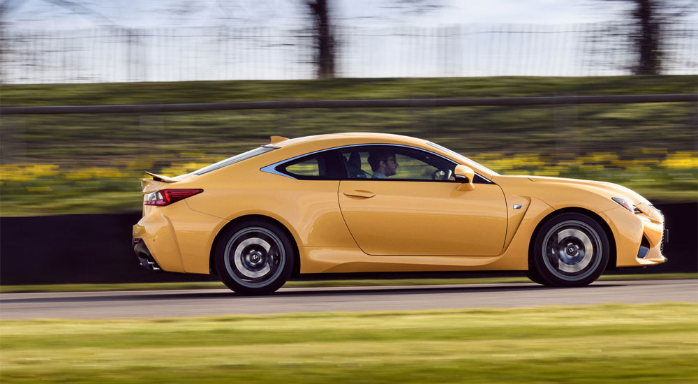 Lexus RC F Top Speed