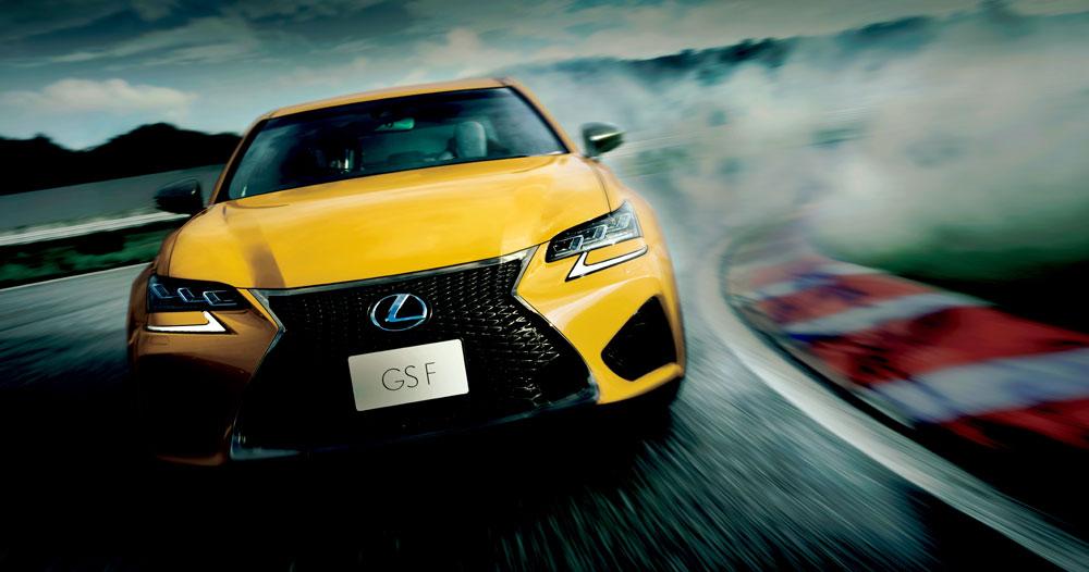 Lexus GS Flare Yellow
