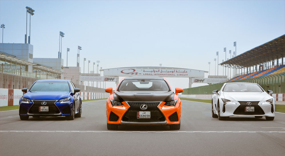 Lexus F Club Qatar