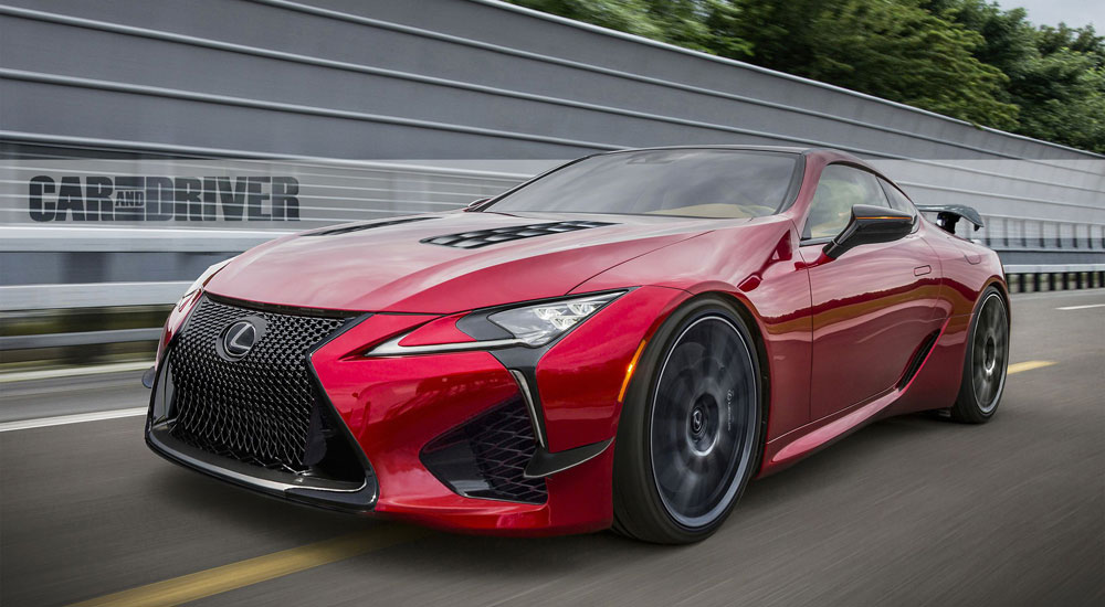 Lexus LC F to Debut in 2021 with Over 600 Horsepower ...