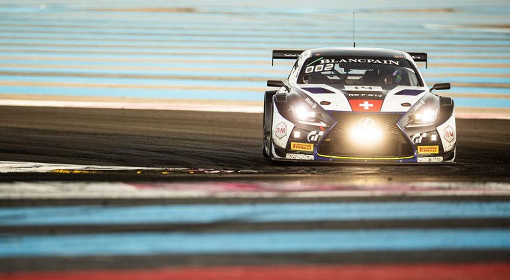 Lexus RC F GT3 Blancpain