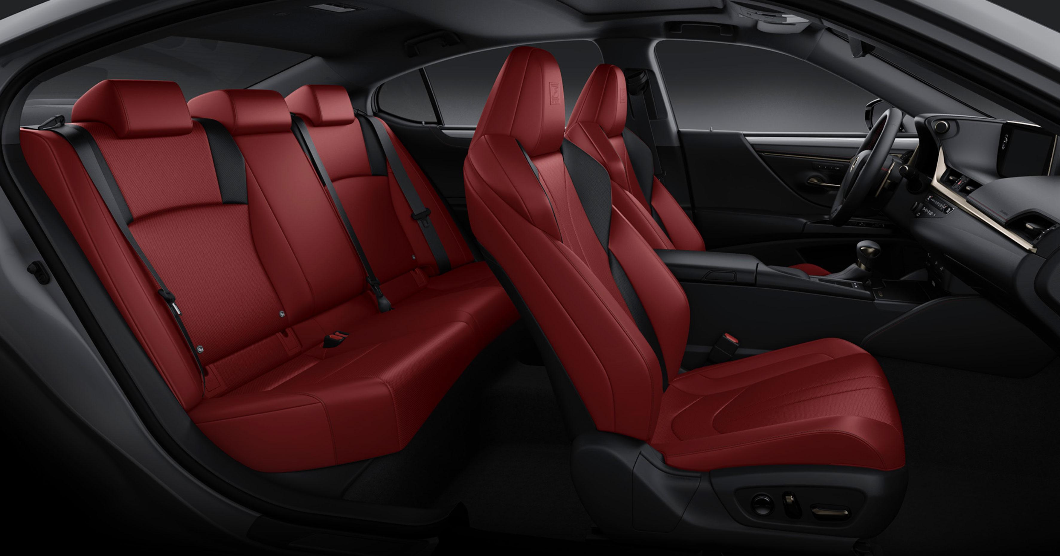 Lexus ES F SPORT Circuit Red NuLuxe