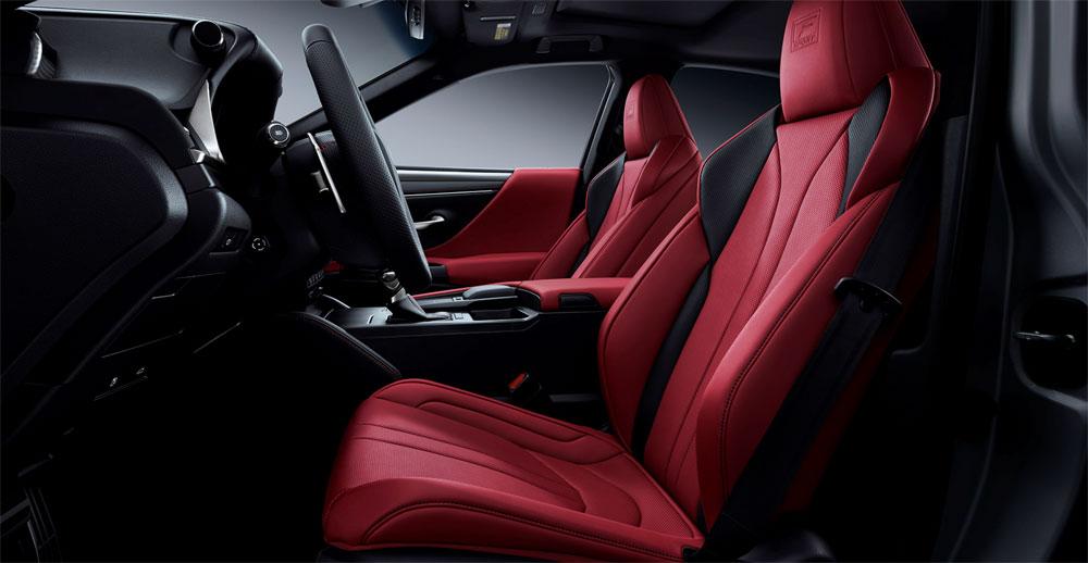 Lexus ES F SPORT Seats