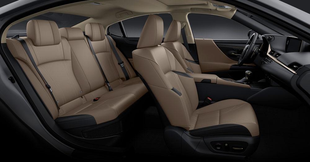 Lexus ES Flaxen Interior