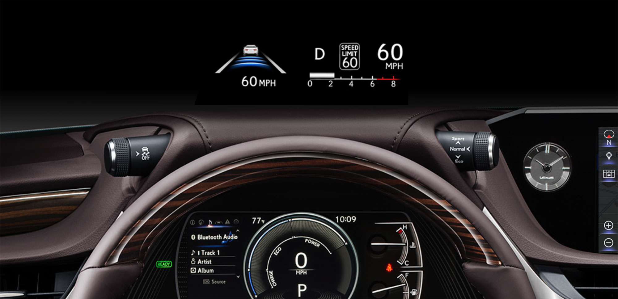 Lexus ES Heads Up Display