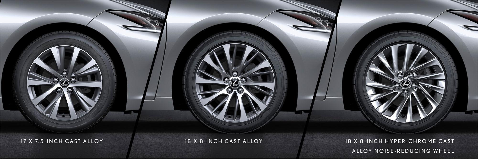 Lexus ES Standard Wheels