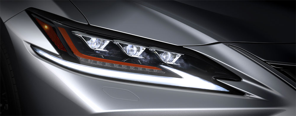 Lexus ES Triple Lamp Headlights
