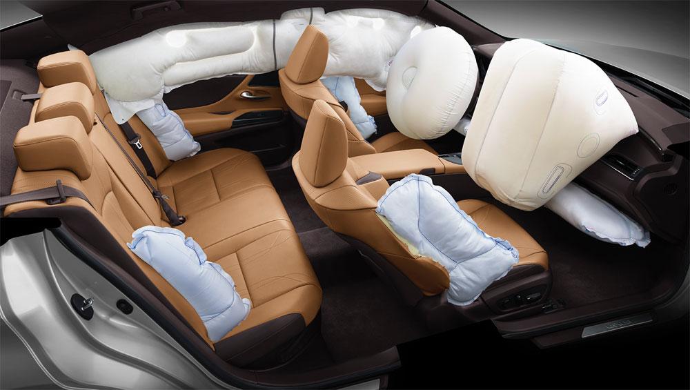 Lexus ES Air Bags