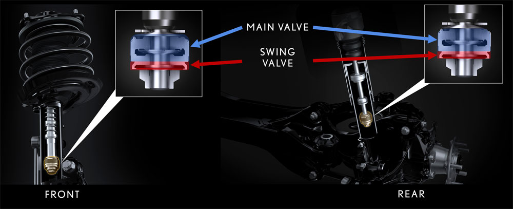 Lexus ES Dynamic Control Shocks