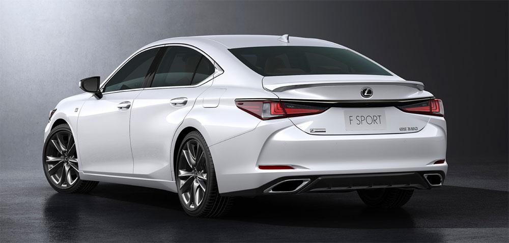Lexus ES F SPORT Rear