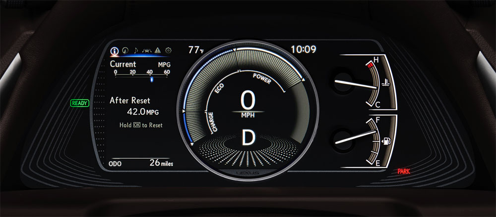 Lexus ES Instrument Panel