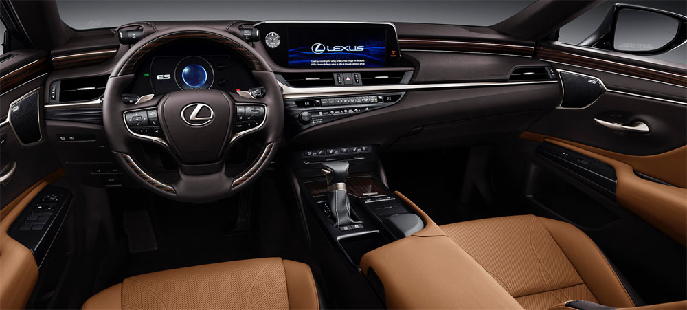 Lexus ES Interior Design