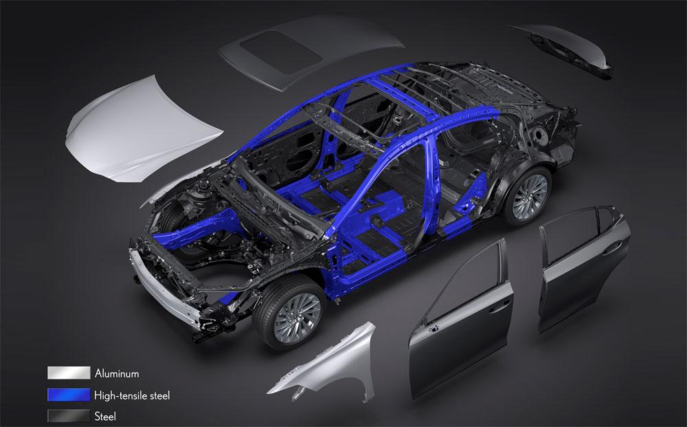 Lexus ES Lightweight