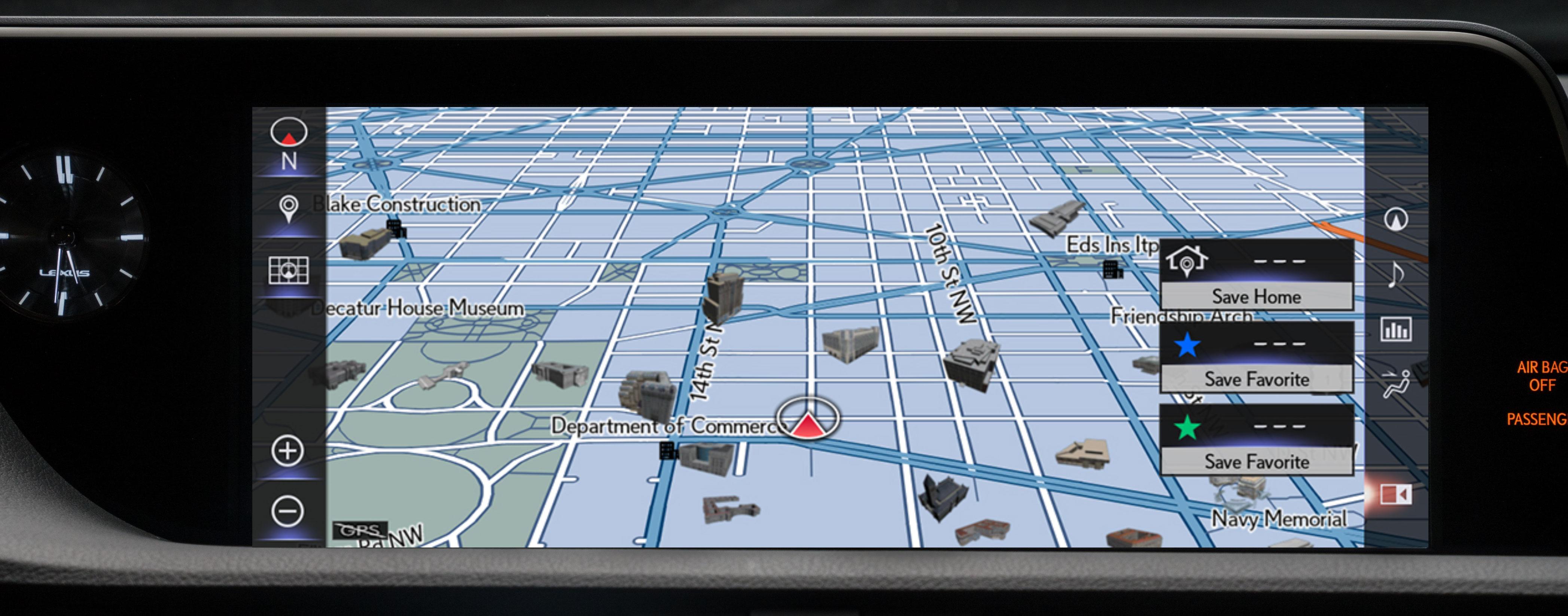 Lexus ES Navigation