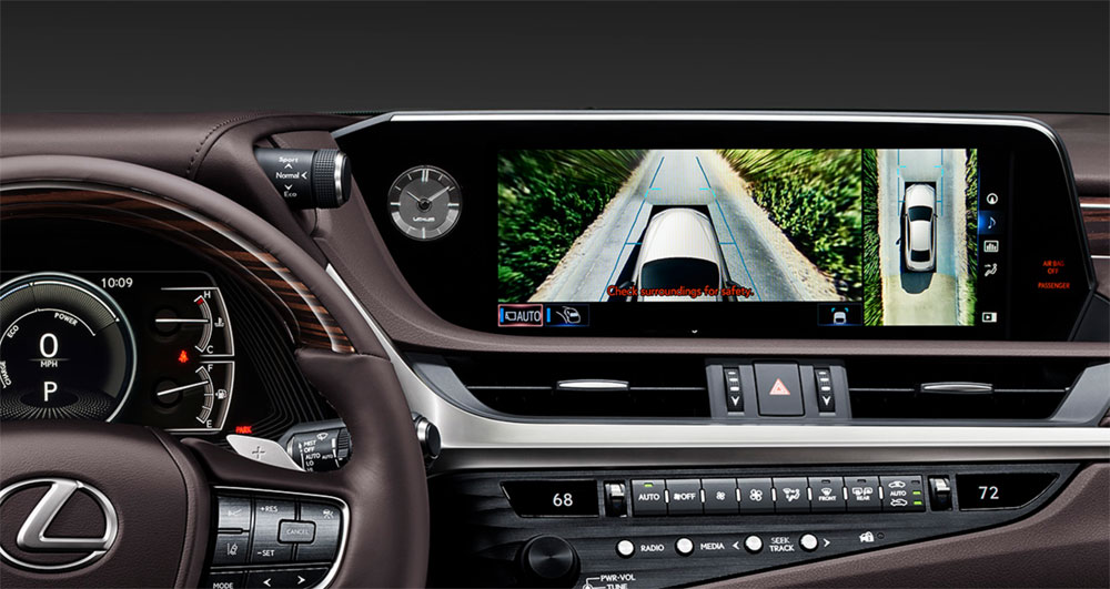 Lexus ES Panoramic View Monitor