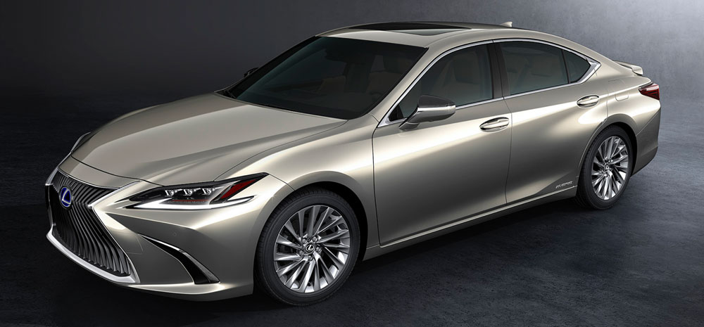 Lexus ES Production Model