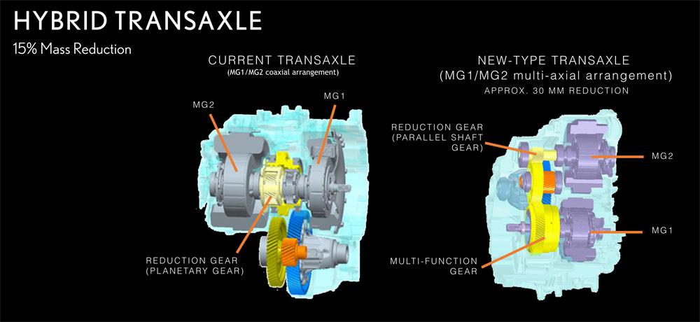 Lexus ES Hybrid Transaxel