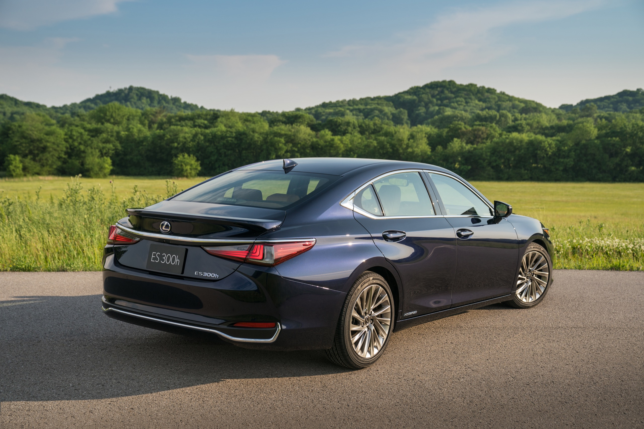 Photo Gallery: The 2019 Lexus ES 300h In Four Exterior