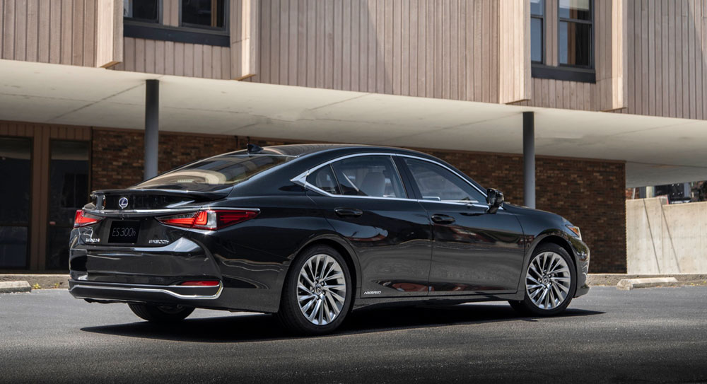 Photo Gallery The 2019 Lexus Es 300h In Four Exterior Colors