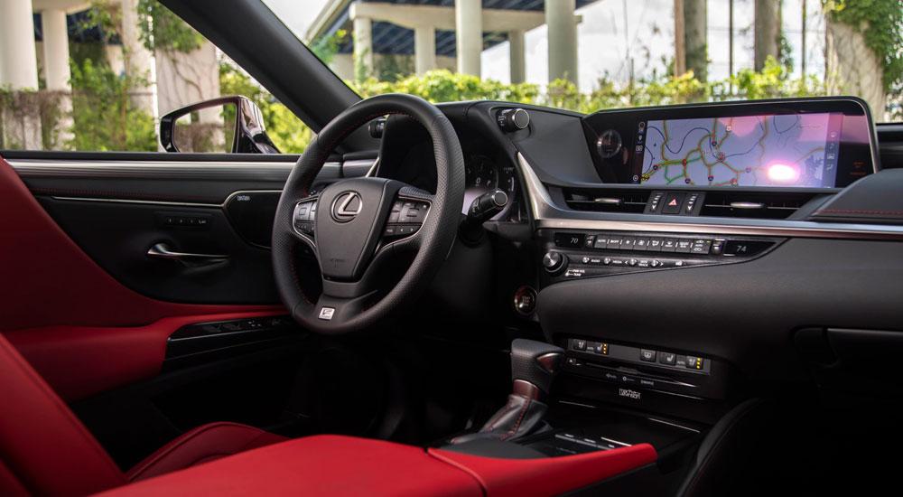 Lexus ES 350 F SPORT Interior