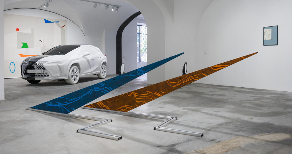 Lexus UX Art Exhibit
