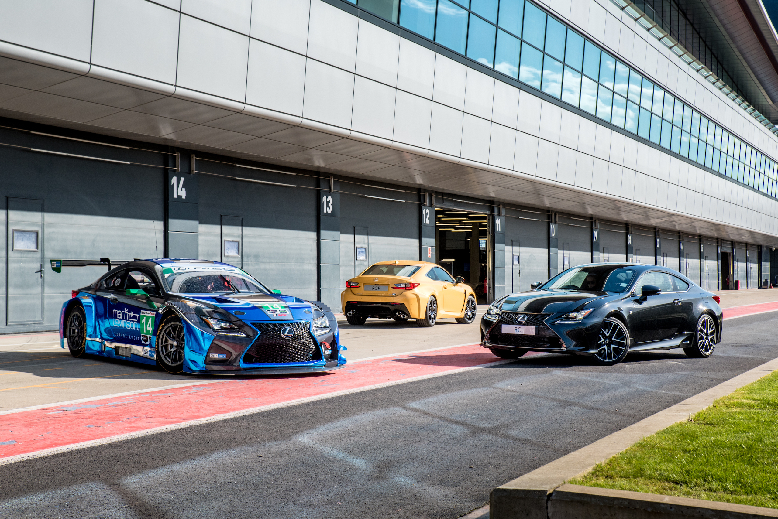 10 Years of Lexus F Celebration at Goodwood Festival of Speed