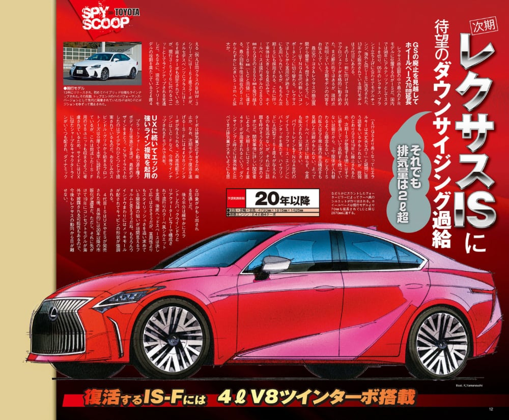 Lexus IS Mag-X Full Page