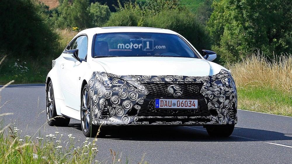Lexus RC F SPORT Update